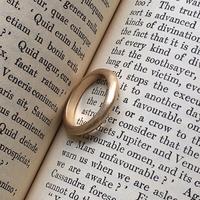 Vintage type simple ring