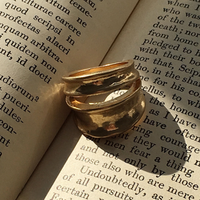 Vintage type double ring