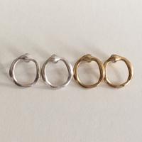 Vintage type loop pierce