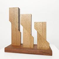 〈Daisaku Yakabe〉Wood sculpture