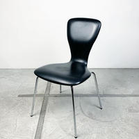 Faux leather nikke chair 50's