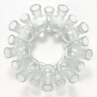 Small glass vase sculpture