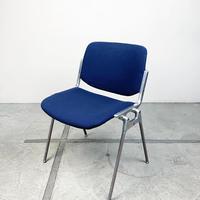 Aluminum castelli dining chair 60's-70's