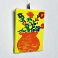 Hand painting  flower wall art