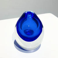 2tone glass vase