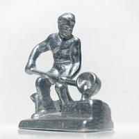 Aluminum craftman sculpture