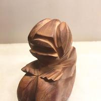 Carved wood monster 1992's