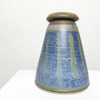 Handemade ceramic vase 1981's