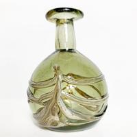 Glass art vase 1978's