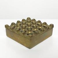 Ultima brass ashtray 70's