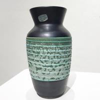 2- tone ceramic vase 50's - 60's