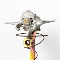 Handmade alien sculpture 1978's