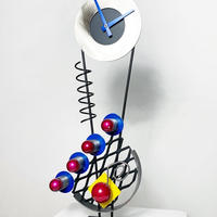 Metal design clock 1997's