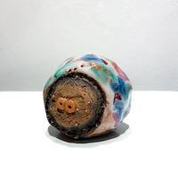 Ceramic marble monster