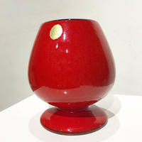 Fat shape ceramic vase 50's