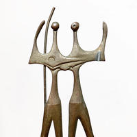 Iron warriors sculpture