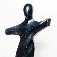 Metal human sculpture 1989's
