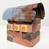 Handmade brick house