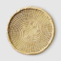 「枝豆を盛るのもおすすめ」竹製そば盛り皿 そばざる