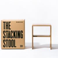 「釘が1本も使われていない」スツール THE STACKING STOOL