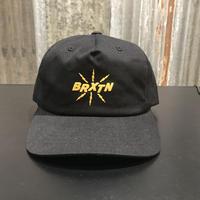 【BRIXTON】ZAP MP SNBK CAP  BLACK(ブラック)