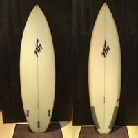 """【Y.U SURF BOARD】AIR GRIP 6'4"""" FIN付き"""