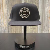【BRIXON】OATH ⅢSNAPBACK CAP (BLACK)