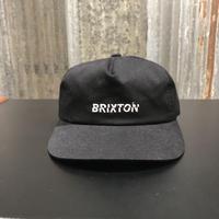 【BRIXTON】SLICE LP CAP BLACK(ブラック)