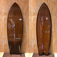 """【Y.U SURF BOARD】 ROCKET FISH 5'10"""""""