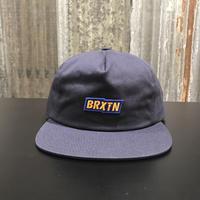 【BRIXTON】TOPPER HP SNBK CAP  NAVY(ネイビー)