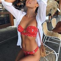 TB-041 Lady Rose Bustier Bikini