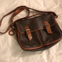 Vintge celine 2 way pocket bag