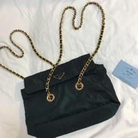 Vintage Prada chain bag