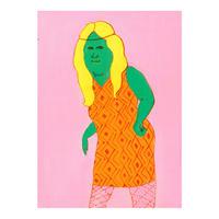 ピクルス - ワンピースを着た女 Pickles - A woman in a dress
