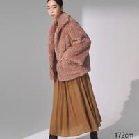 Curly Eco Fur Jacket