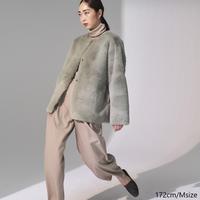 Eco Fur×Suede Reversible Jacket