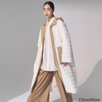 Eco Fur×Twill Mountain Coat