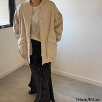 Eco Leather Rib Blouson
