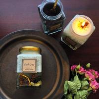 アールグレイ紅茶のアロマキャンドル~自分をみつめる幸せキャンドルテラピー~