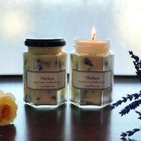 天然素材100%アロマとハーブのソイキャンドル~ラベンダーの香り~