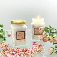 ダマスクローズの時間 100%natural soy candle【幸せキャンドルテラピー】
