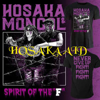 【HOSAKA AID Tシャツ<8月配信>】(ミスモンゴル×保坂秀樹コラボ)