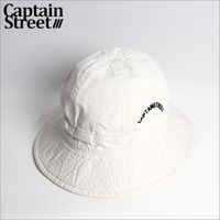 【CAPTAIN STREET】 Arch Logo ボールハット IVORY