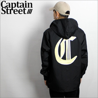 【CAPTAIN STREET】OE HOODジャケット BLACK