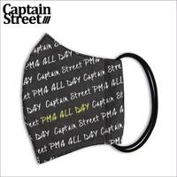 【CAPTAIN STREET】 総柄 マスク