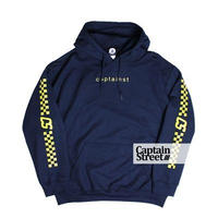【CAPTAIN STREET】 Checker P/Oパーカー NAVY  Lサイズ