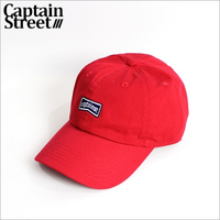 【CAPTAIN STREET】FLG 6パネルキャップ RED
