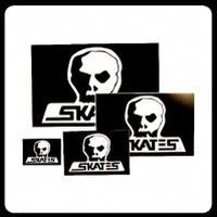 【SKULL SKATES】OGロゴステッカー Lサイズ