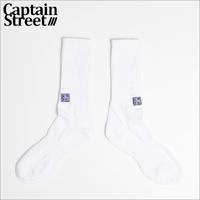 【CAPTAIN STREET】CS SOX WHITE