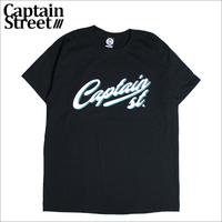 【CAPTAIN STREET】Script LOGO Tシャツ BLACK